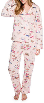 PJ Salvage Playful Prints Cotton Pajama Set