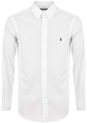 Ralph Lauren Long Sleeved Core Fit Shirt White