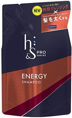 Energie (エナジー) - h&s PRO (エイチアンドエス プロ) メンズ シャンプー エナジー 詰め替え (ボリューム重視) 300mL