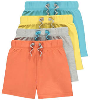 Jersey Shorts 4 Pack