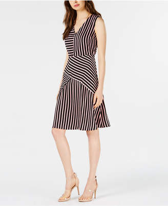 Bar III Mixed-Stripe Dress, Created for Macy's