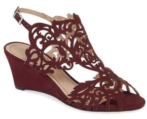 Klub Nico Marcela Laser Cutout Wedge Sandal