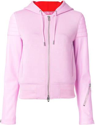 Givenchy zipped hooded jacket