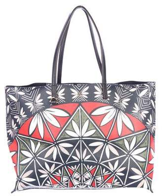 Tory Burch Pottery Print Kerrington Square Tote