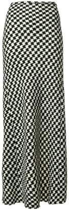 Ter Et Bantine houndstooth maxi skirt