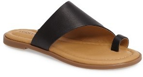 Women's Lucky Brand Anora Toe-Loop Sandal $68.95 thestylecure.com