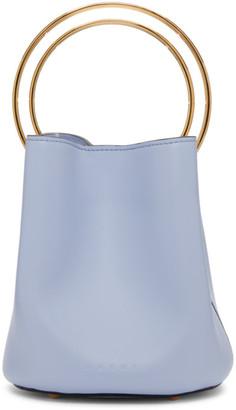 Marni Blue Pannier Bag