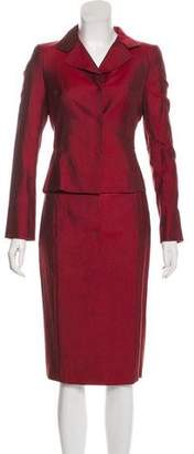 Akris Silk Skirt Suit w/ Tags