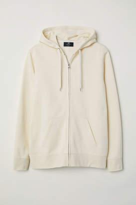 H&M Regular Fit Hooded Jacket - White