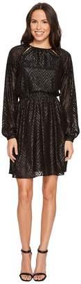 MICHAEL Michael Kors Lurex Jacquard Dress Women's Dress