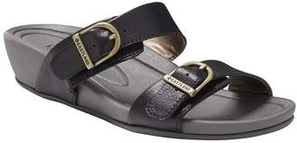 Eastland Leather Wedge Sandals - Cape Ann