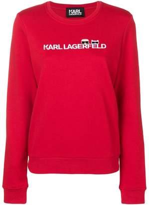 Karl Lagerfeld Paris Lagerfeld Ikonik & logo sweatshirt