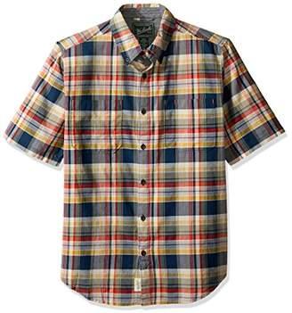 Woolrich Men's Oak View Eco Rich Modern Fit Shirt