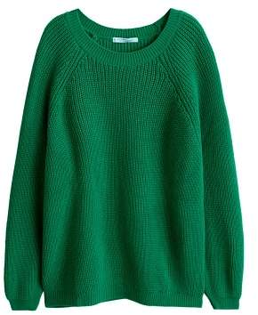 Violeta BY MANGO Chunky-knit sweater