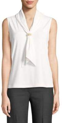 Karl Lagerfeld Paris Embellished Sleeveless Top