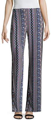 Liz Claiborne Wide Leg Pull on Pant - Tall Inseam 29.5