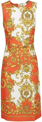 P.A.R.O.S.H. Baroque Pattern Dress