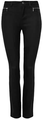 Wallis Black Zip Pocket Trouser