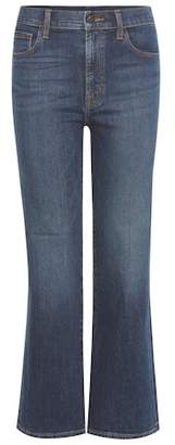 J Brand Carolina high-rise flared jeans