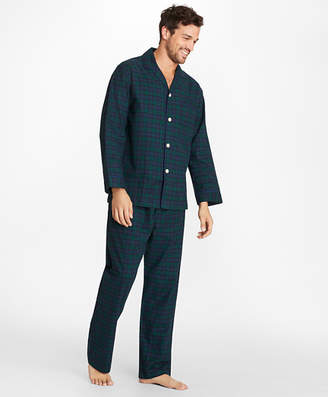 Brooks Brothers Black Watch Flannel Pajamas