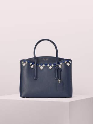Kate Spade margaux jeweled large satchel