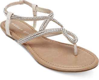 Madden-Girl Trudi Embellished Thong Sandals