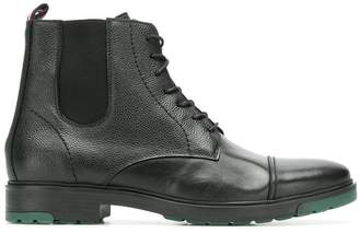 Tommy Hilfiger lace up ankle boots