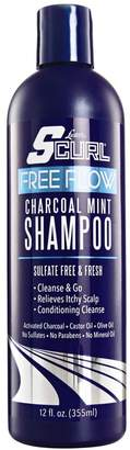 Luster's Free Flow Charcoal Mint Shampoo