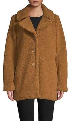 Laundry by Shelli Segal Faux Fur Teddy Jacket