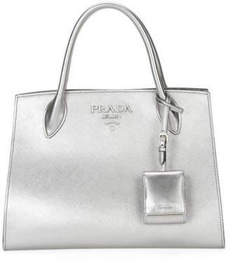 cde76de2ac9e Prada Handbag Silver Hardware - ShopStyle