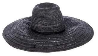 Rag & Bone Straw Wide-Brim Hat