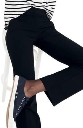 J.Crew Edie Full Length Trouser in Four-Season Stretch