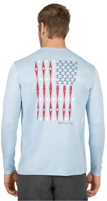 Mountain and Isles Sun Protection Long Sleeve Americanoe T Shirt