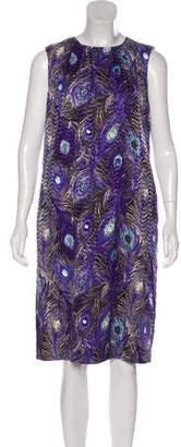 Tory Burch Printed Zorra Dress w/ Tags
