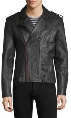 Joe's Jeans Leather Moto Jacket