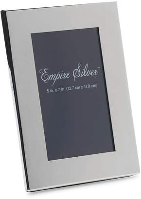 Empire SilverTM Channel Back Pewter Picture Frame