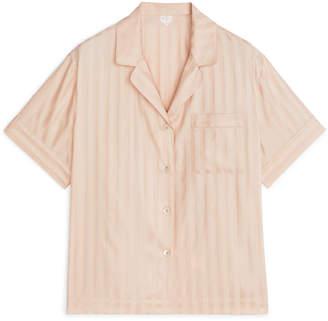 Arket Striped Pyjama Shirt