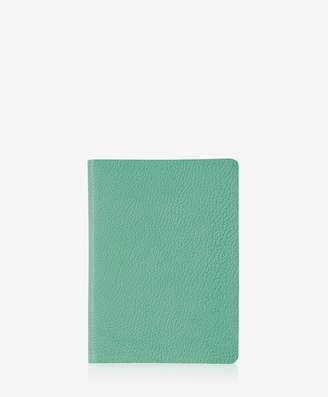 GiGi New York Medium Journal, Petal Pink Goatskin