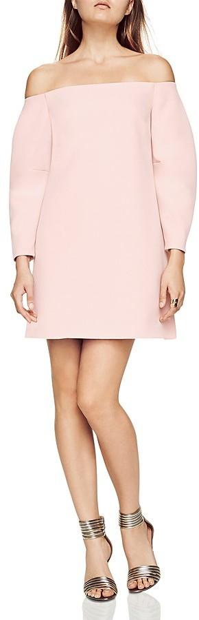 BCBGMAXAZRIABCBGMAXAZRIA Yesenia Off-the-Shoulder Shift Dress
