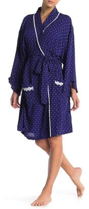 Eileen West Dot Print Robe