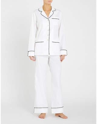 Olivia Von Halle Coco cotton pyjama set