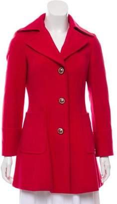 Etro Wool Notch-Lapel Coat