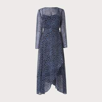 LK Bennett Beya Navy Dress