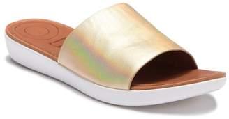 FitFlop Sola Leather Slide Sandal