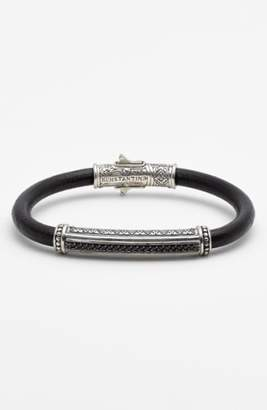 Konstantino 'Plato' Leather Bracelet