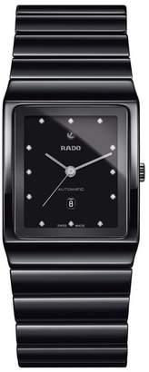 Rado Ceramica Diamond Ceramic Bracelet Watch, 30mm x 41mm