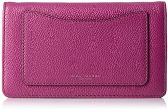 Marc Jacobs Recruit Wallet On Leather Strap