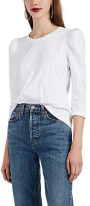 A.L.C. Women's Karli Puff-Sleeve Cotton T-Shirt