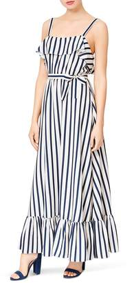 Betsey Johnson Striped Maxi Dress