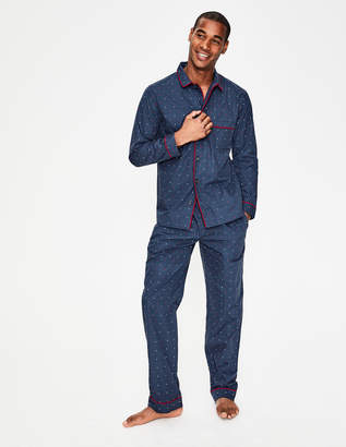 Boden Cotton Printed Pajama Set